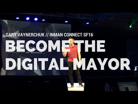 Gary Vaynerchuk Speaking at Inman Connect San Francisco 2016