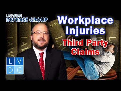 """Injured at work? What are """"third-party claims?"""""""