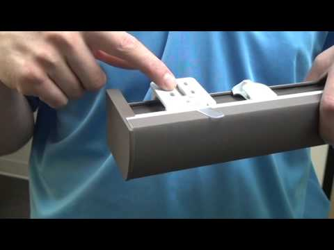 How to remove a Hunter Douglas Silhouette® or Nantucket™ window shade