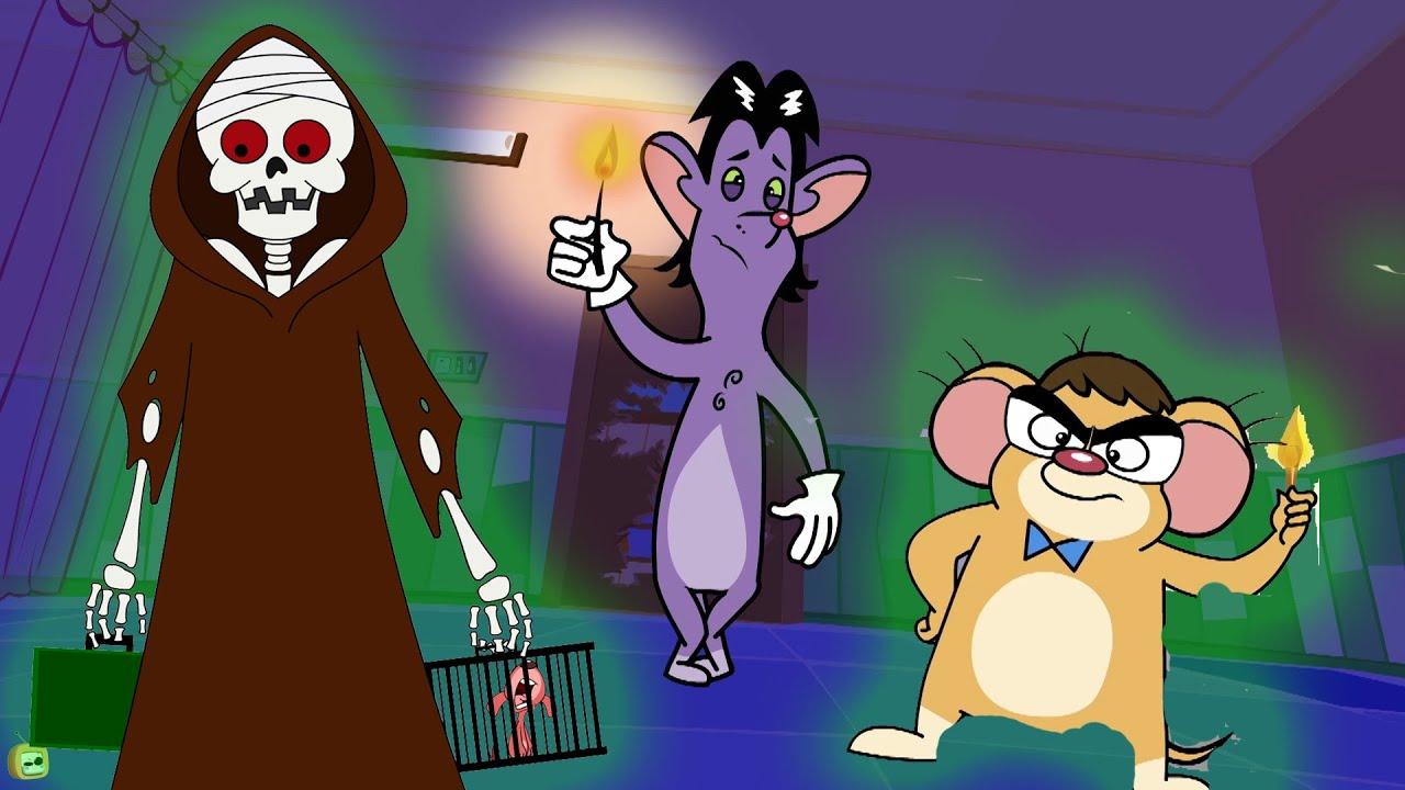Rat-A-Tat  Skeleton Mummy & Scary Comedy Mice Slapstick Animation  Chotoonz Kids Funny CartoonVideos