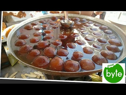 Gulab Jamun in size of a Cricket Ball - Famous Indian Sweet Making
