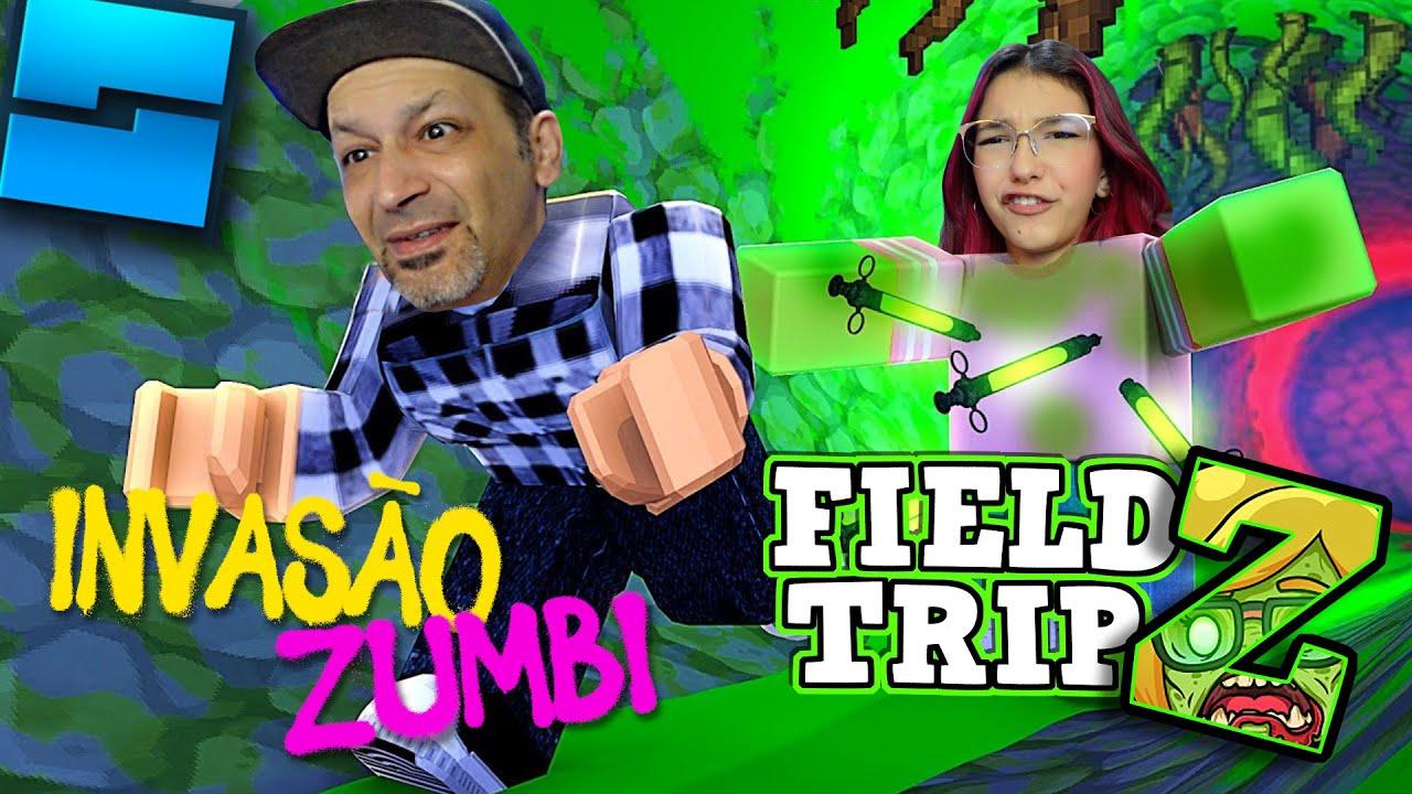 ROBLOX | INVASÃO ZUMBI NO ROBLOX - FIELD TRIP Z