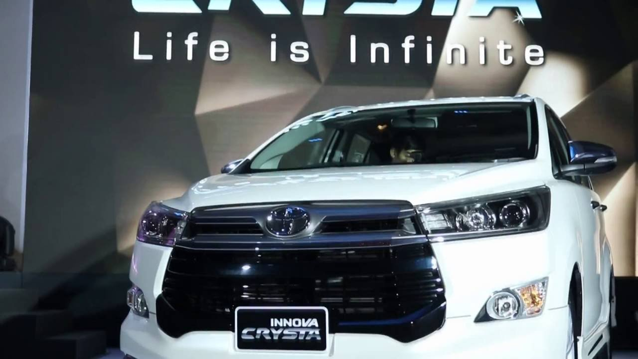 [Video Launch] ชมวีดีโอจากงานเปิดตัว Toyota Innova Crysta