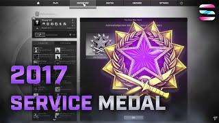 CS:GO 2017 Service Medal Review