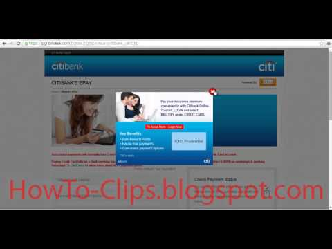 How To Pay Citibank Credit Card Bill Online Using Debit Card Thorugh Billdesk Epay