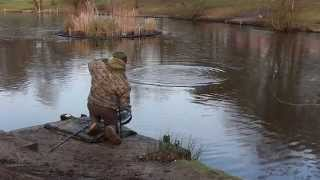 Catching Carp From Under The Ice With Ian Lewis