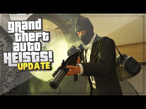 GTA 5 Heist Online Update! ULTIMATE BANK HEIST (HARD MISSION) (GTA 5 Online Gameplay)