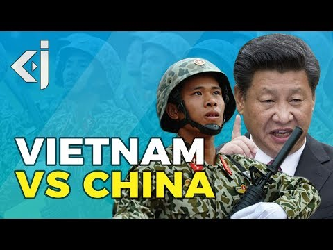Will VIETNAM clash with CHINA over SOUTH CHINA SEA? - KJ Vids