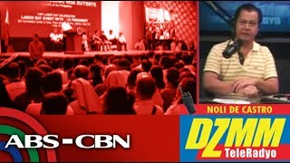 DZMM TeleRadyo: After EO against 'endo', Duterte to back 'security of tenure' bill: Roque (part 2)