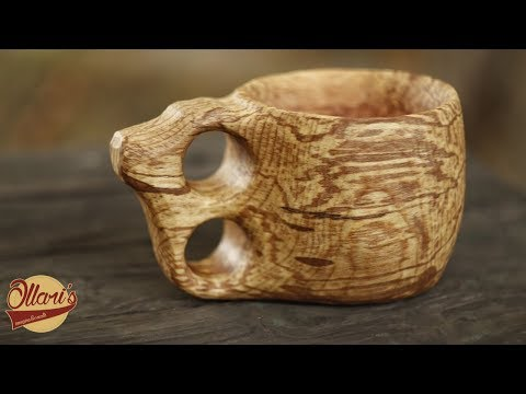 Carving a Wooden Cup