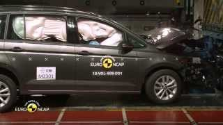 Euro NCAP Crash Test of VW Touran 2015