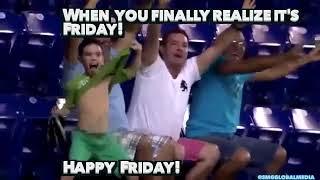 Friday celebration!