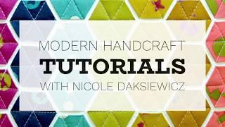 Modern Handcraft / Rope Bowl Tutorial
