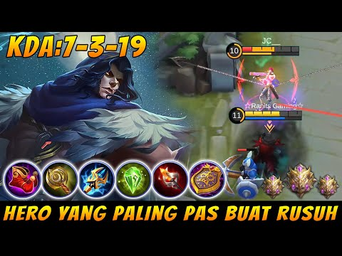 FARAMIS BEST SUPPORT & Damage Build - Mobile Legends Indonesia