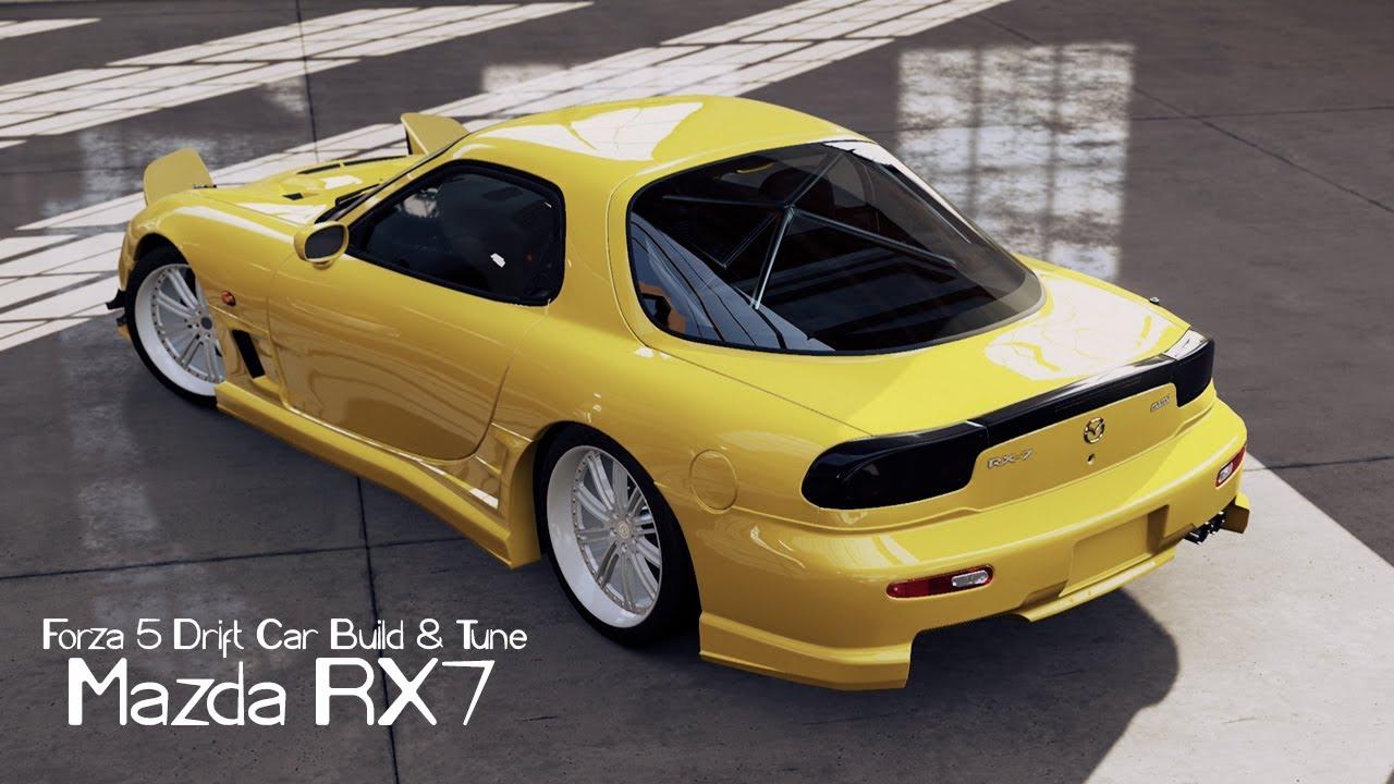 Forza Drift Car Building Tuning Mazda Youtube