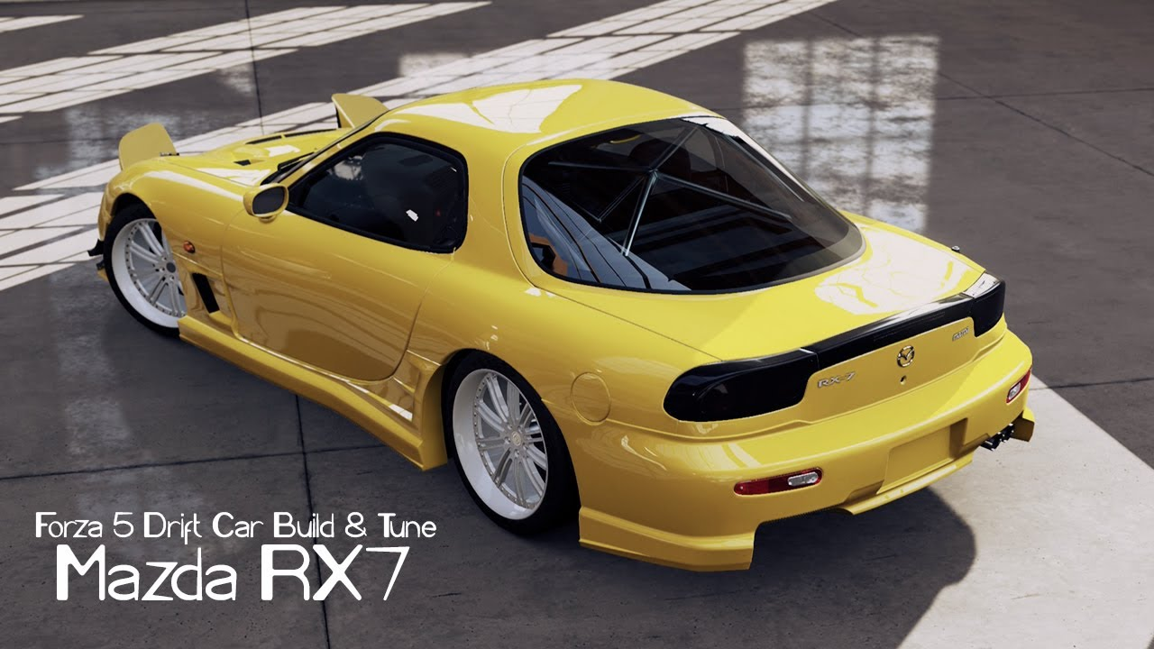 Rc Drift Cars Wallpaper Forza 5 Drift Car Building Amp Tuning 3 Mazda Rx7 Youtube