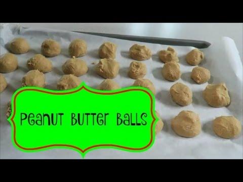 Peanut Butter Balls ~ Dec 7 2016
