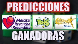 Predicciones Ganadoras De Melate Revancha Retro Tris Chispazo Y Gato(16 22 Jul)