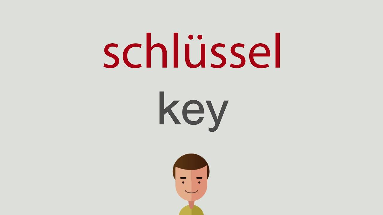 Schlüssel Auf Englisch
