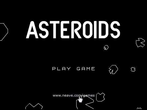 Play Asteroids