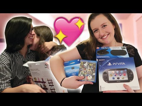 SURPRISING MY GIRLFRIEND WITH A PS VITA FOR VALENTINE'S DAY