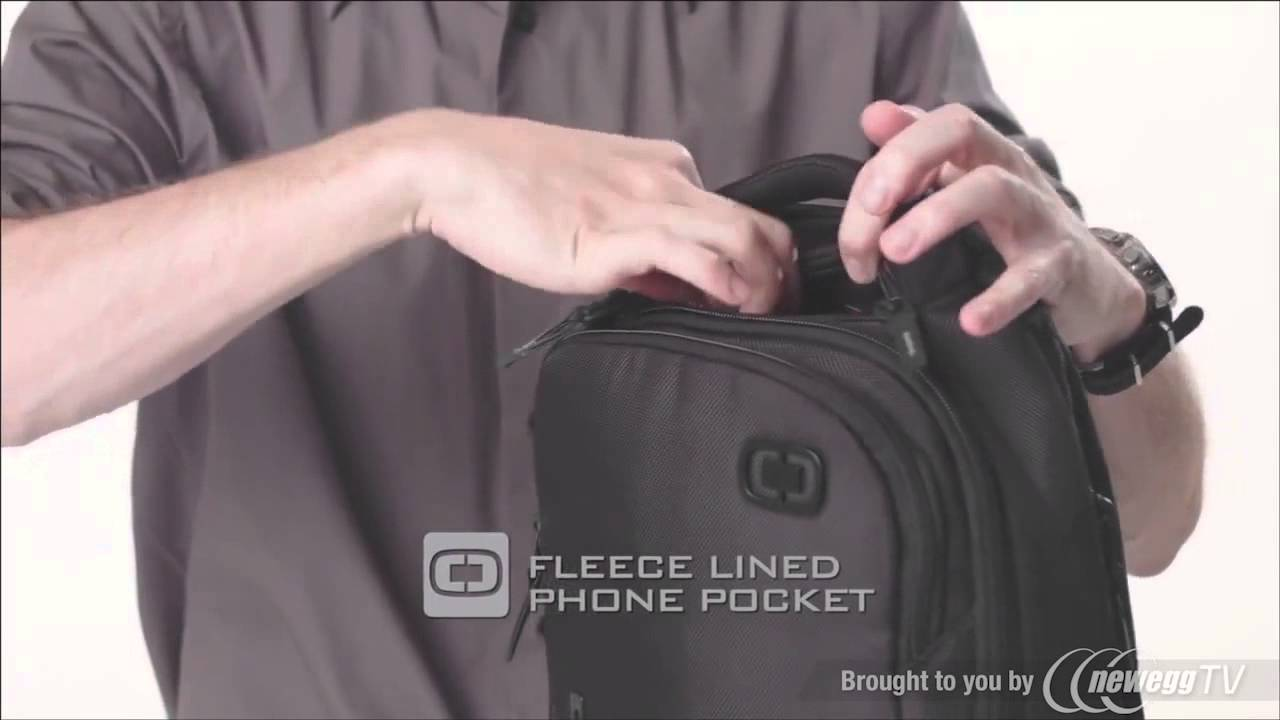 OGIO Newt 15 Laptop/Tablet Backpack - Product Tour - YouTube