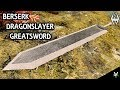 BERSERK DRAGONSLAYER GREATSWORD: Weapon Mod!!- Xbox Modded Skyrim Mod Showcase