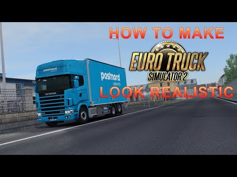 Download Euro Truck Simulator 2 Ets2 Clm Graphics And Redux