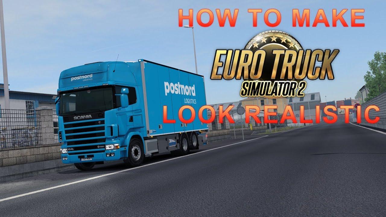 euro truck simulator 2 graphics