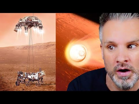 British Guy Reacts to Perseverance Rover's Descent and Touchdown on Mars (Official NASA Video)
