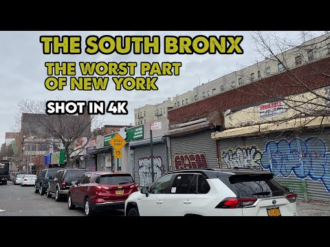 I drove through The South Bronx, the WORST part of New York City