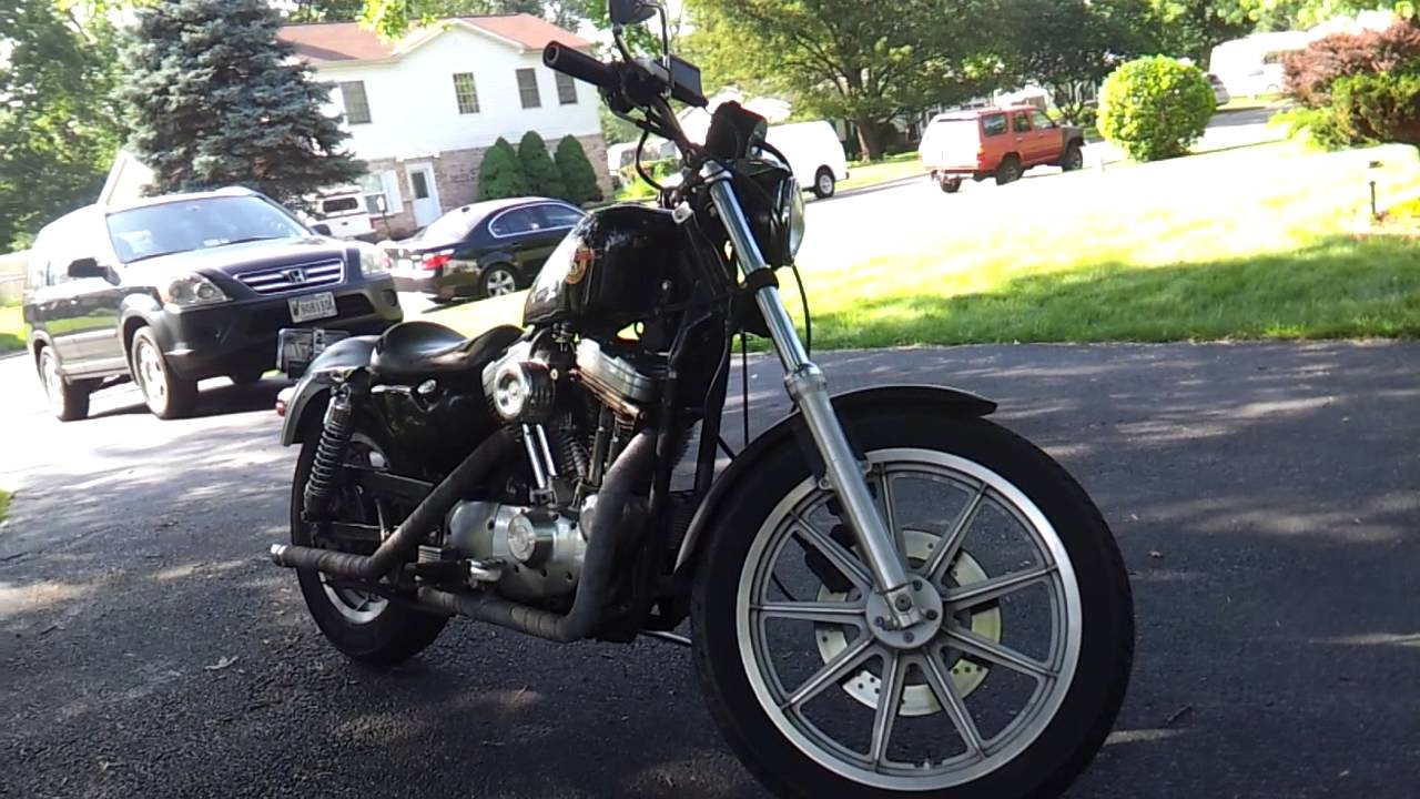 1991 Harley Davidson XLH883 Sportster