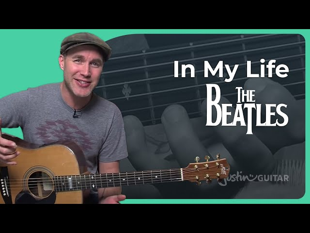 I Want to Hold your Hand - The Beatles | JustinGuitar.com