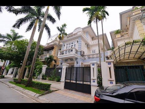 Good quality 5 bedrooms villa Ciputra Hanoi for rent