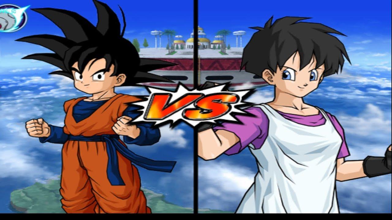 Dragon Ball Z Budokai Tenkaichi 3 Goten X Videl
