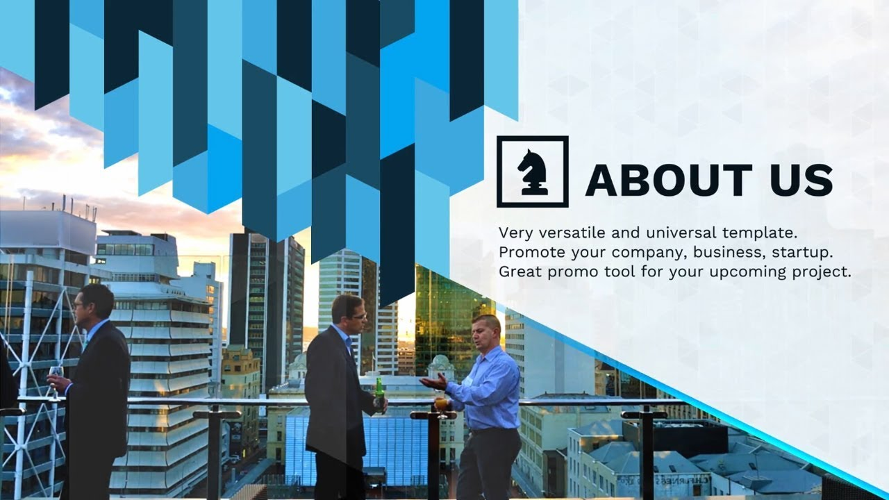 corporate video business presentation - after effects template, Presentation templates