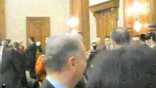 Mircea Geoana tur strangere maini CEX PSD.flv