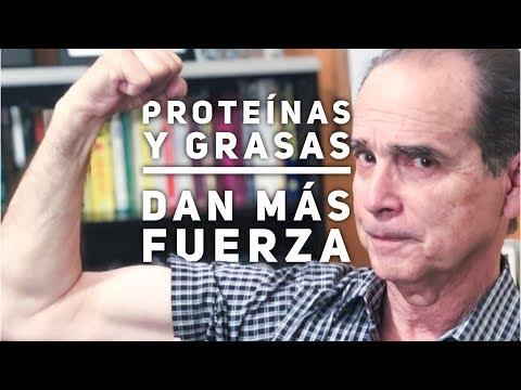 Episodio #1414 Proteínas y grasas dan más fuerza