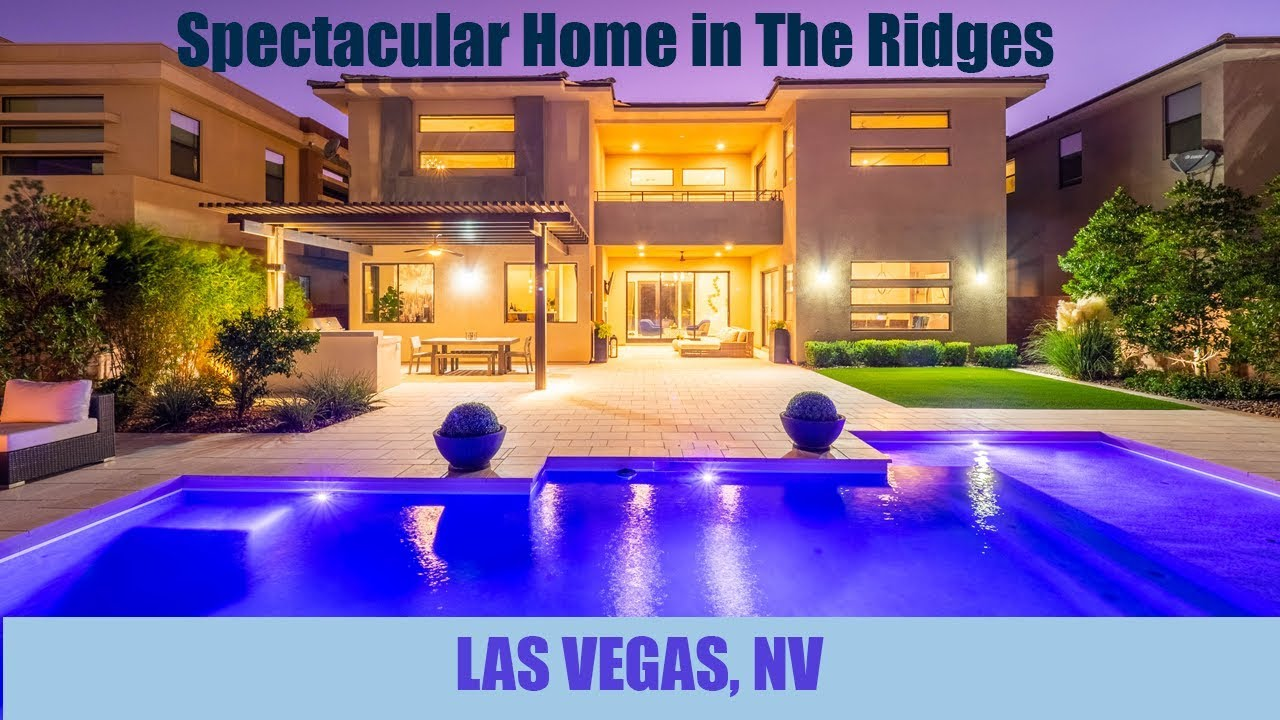 Million Dollar Listing in The Ridges: 66 Pristine Glen St, Las Vegas, NV 89135