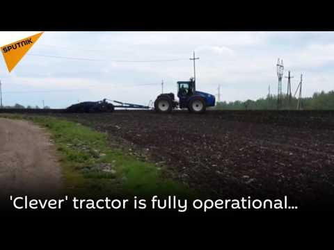 Cognitive Technologies In Agriculture: Tractor