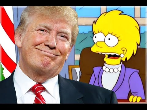 LA PRESIDENZA TRUMP PREDETTA DAI SIMPSON: VIDEO
