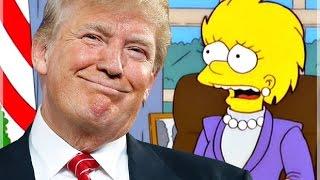 I Simpson avevano previsto l'elezione di Trump nel 2000 !