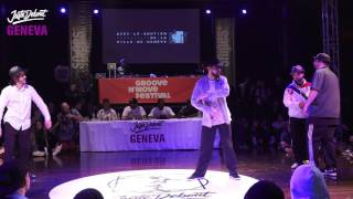 1/4 Popping ▶︎Italian Stallions vs Byzon style◀︎ Juste Debout Suisse 2017