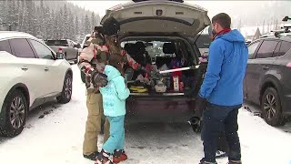 Mountain snow, MLK weekend traffic greet holiday-goers in the High Country