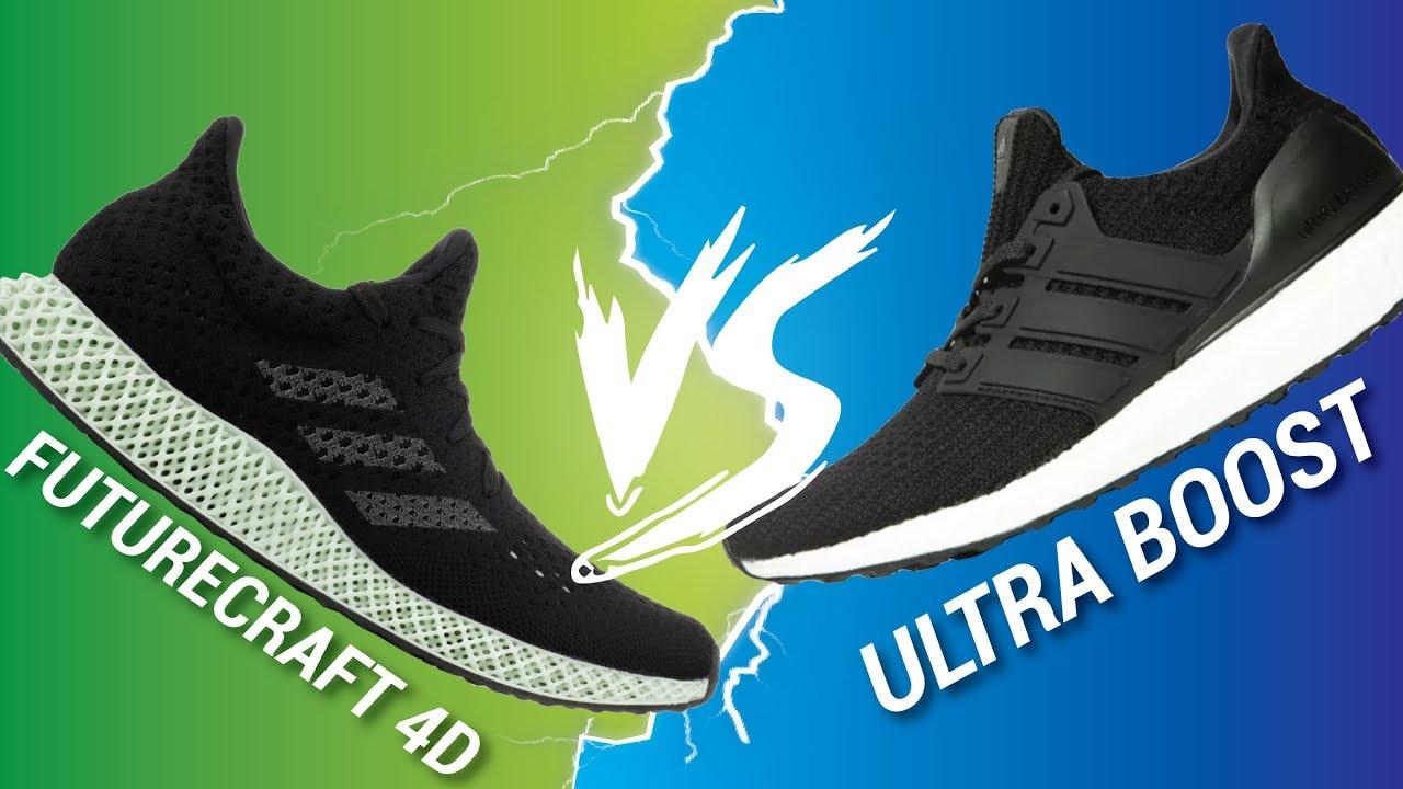 adidas futurecraft 4d vs ultra fördern, youtube