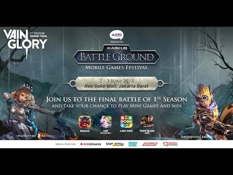 [PART 3] KASKUS Battleground Vainglory Season 1 GRAND FINAL - DAY 2
