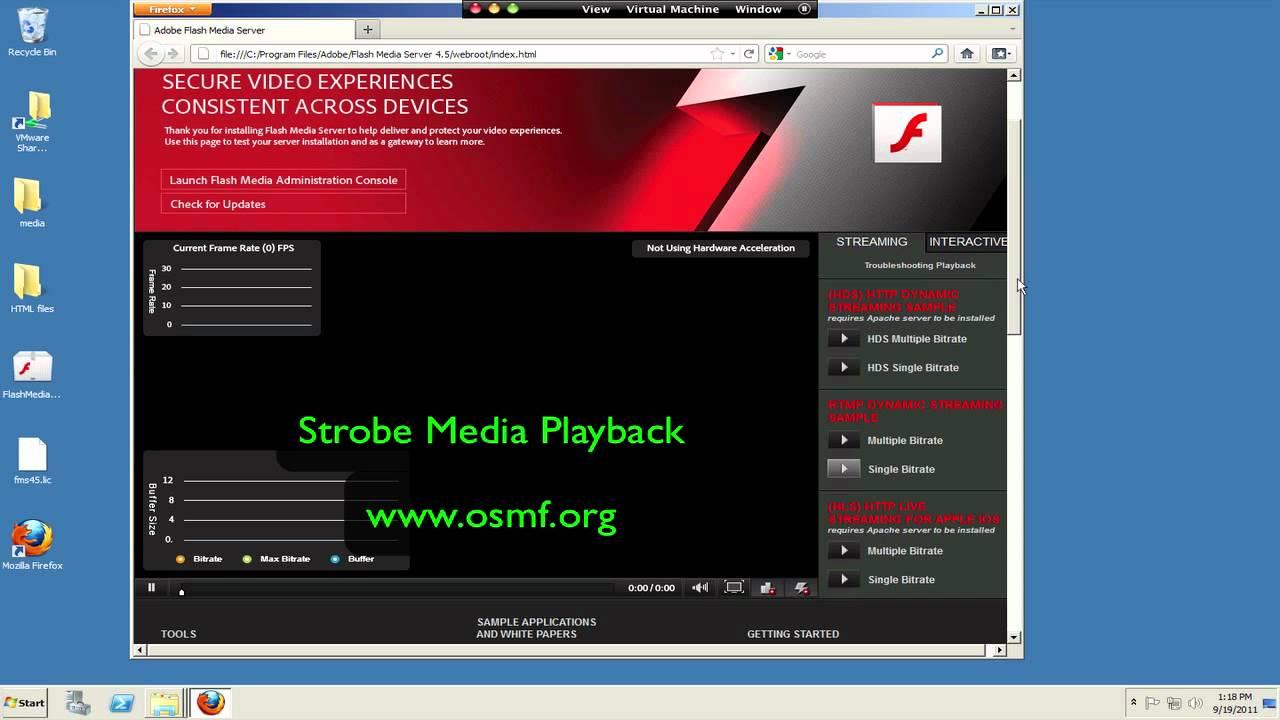 adobe flash media server free download