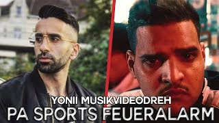 Pa Sports löst Feueralarm aus | Yonii neues Musikvideodreh