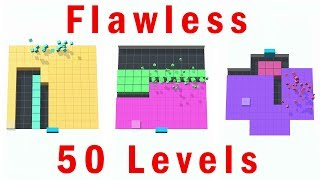 Color Fill 3D - Flawless 50 Levels - Gameplay