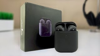 Black $60 AirPods: Unboxing & Review [Urbanpods]